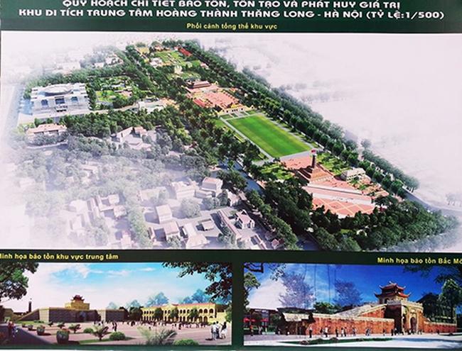 Công bố Quy hoạch chi tiết Hoàng thành Thăng Long