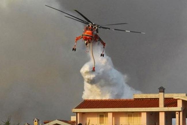 Bao giờ Hà Nội trang bị trực thăng chữa cháy?