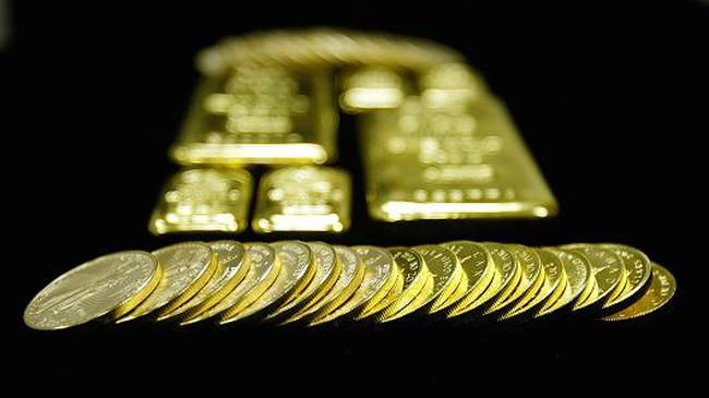 Giá vàng thế giới trồi sụt thất thường