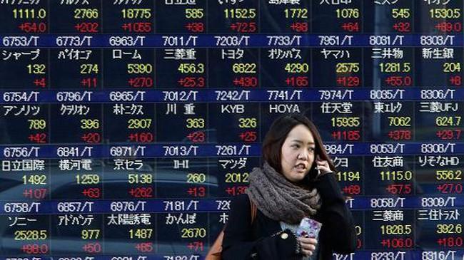 Chứng khoán châu Á tăng điểm mạnh mẽ