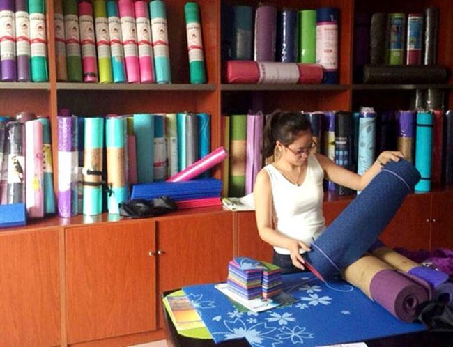 Thảm tập yoga Trung Quốc có độc
