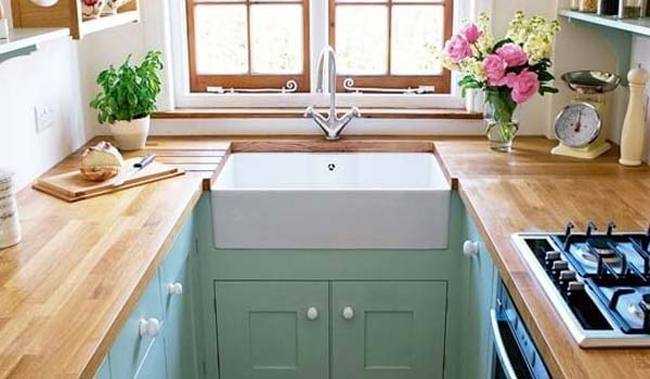 Những căn bếp dạng chữ U thiết thực cho không gian nhỏ