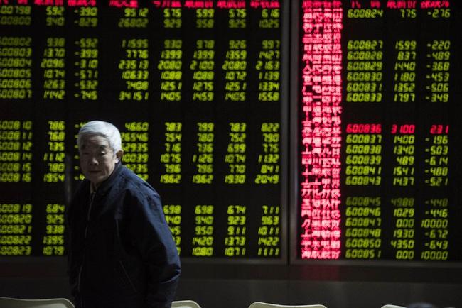 Trước giờ G: Sắc đỏ bao trùm chứng khoán toàn cầu trừ Trung Quốc