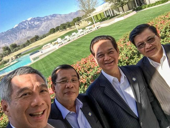 Thủ tướng Singapore đăng ảnh selfie cùng Thủ tướng Nguyễn Tấn Dũng