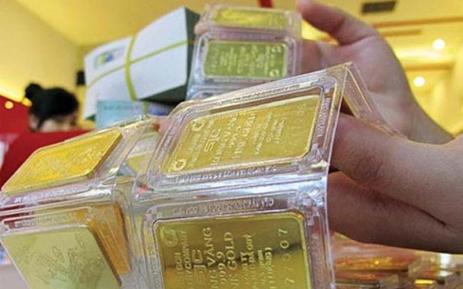 Giá vàng có phiên giảm thứ hai liên tiếp