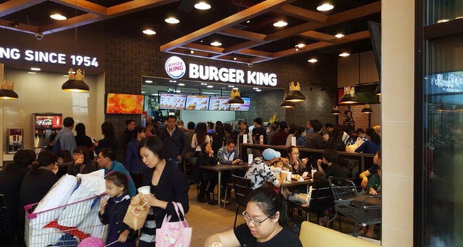 Burger King khẳng định bám trụ thị trường Việt Nam