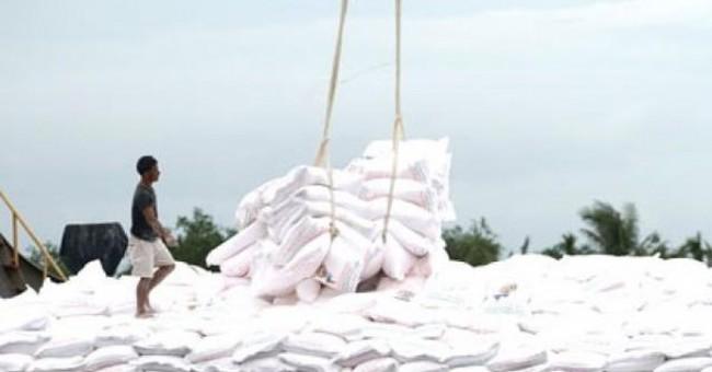 """Giá gạo xuất khẩu giảm """"không bình thường"""""""