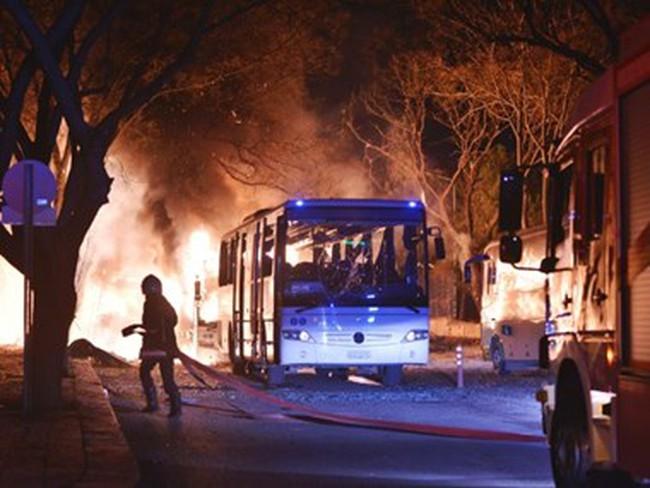 Đánh bom tại thủ đô của Thổ Nhĩ Kỳ, gần 90 người thương vong