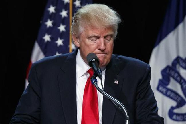 Lần đầu tiên Donald Trump nói chuyện tranh cử Tổng thống thất bại