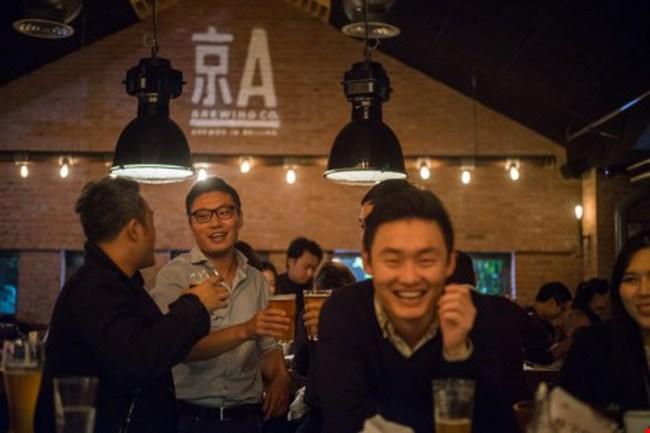 Bia nhập khẩu lên ngôi tại Trung Quốc