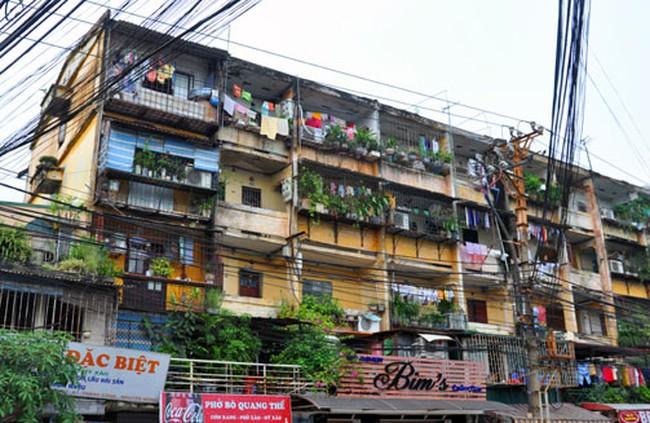 Sắp kiểm định toàn bộ công trình cũ nguy hiểm tại Hà Nội