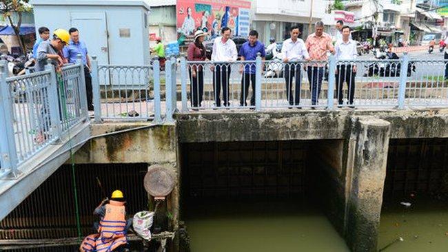 Phản ứng nhanh để bảo vệ cá ở Nhiêu Lộc - Thị Nghè