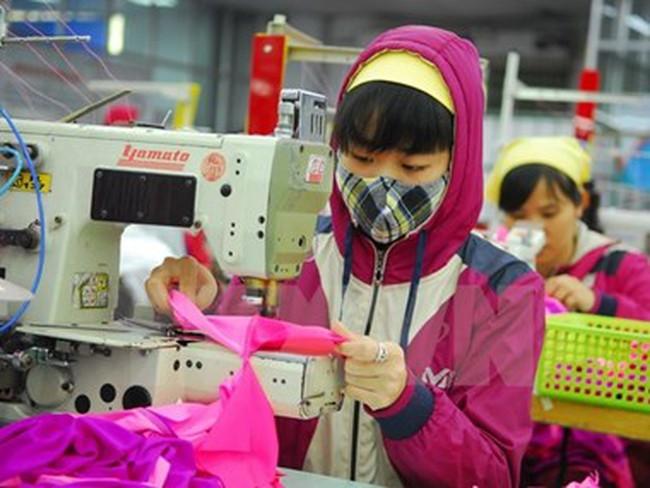 """Hội nhập TPP: Doanh nghiệp dệt may vẫn chậm trên """"sân nhà"""""""