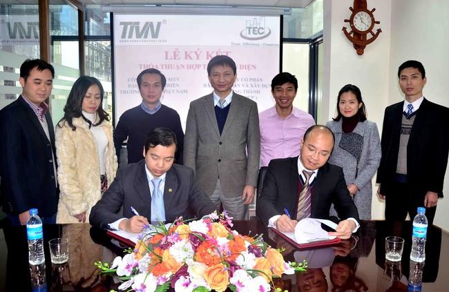 Bất động sản và xây dựng Trường Thành ký hợp tác toàn diện với Công ty TNHH MTV Đầu tư phát triển Trường Thành Việt Nam