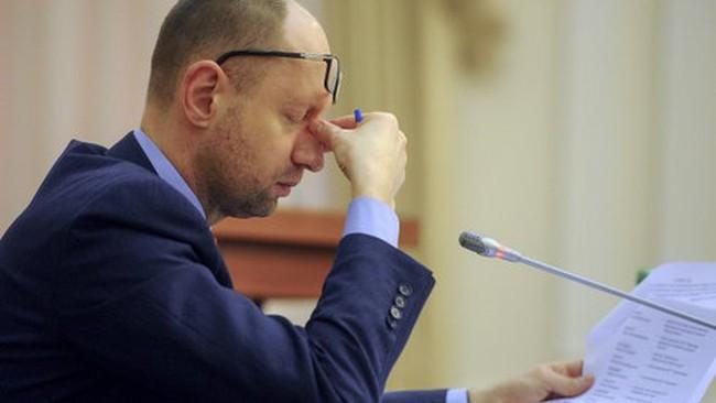 Thủ tướng Ukraine Yatseniuk từ chức