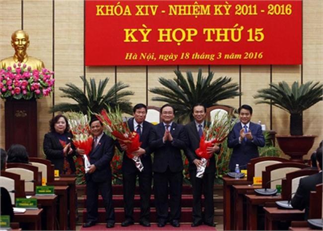 3 Giám đốc Sở được bầu làm Phó chủ tịch Hà Nội