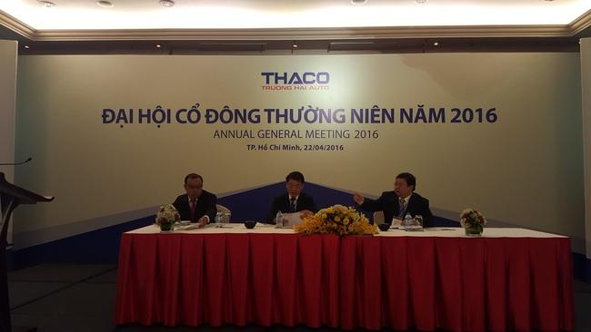 Trực tiếp ĐHCĐ THACO: Phá kỷ lục năm 2015 bằng doanh thu 3 tỷ USD trong năm 2016