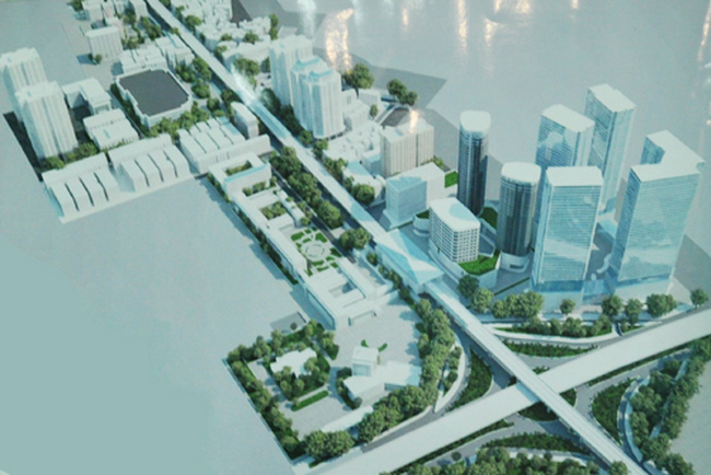 Hà Nội công bố thiết kế đô thị hai bên đường Xuân Thủy