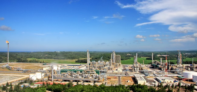 25 triệu USD cho bản thiết kế Dự án Nâng cấp mở rộng Nhà máy Lọc dầu Dung Quất