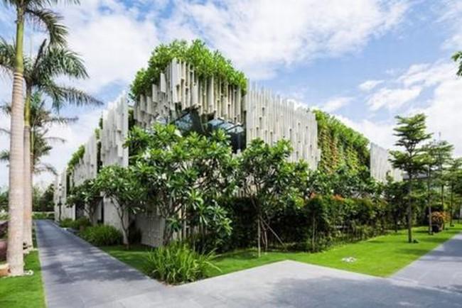 Những công trình kiến trúc Việt Nam nổi bật trong năm 2015