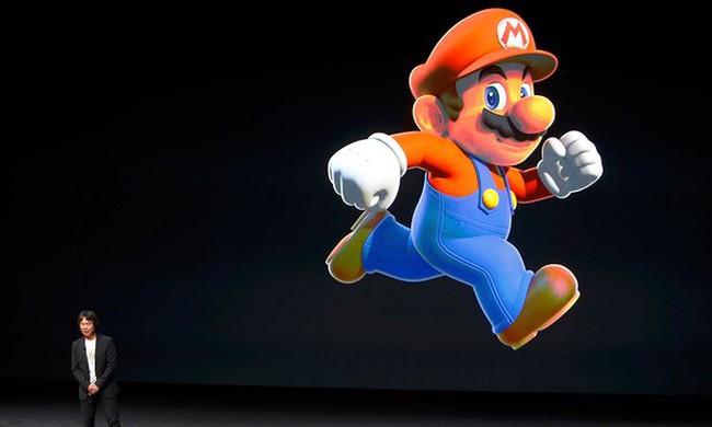 Người dùng có thể chơi Super Mario trên iPhone, giá cổ phiếu Nintendo tăng vọt gần 20%