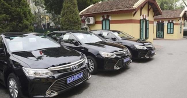 Chính phủ yêu cầu dừng sắm xe công nếu ngân sách hụt thu