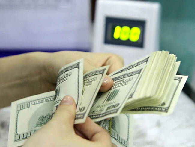 Tỷ giá trung tâm giảm 29 đồng trong tuần cuối tháng 1