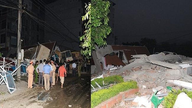 Bộ Xây dựng vào cuộc vụ sập nhà 5 tầng tại Cao Bằng