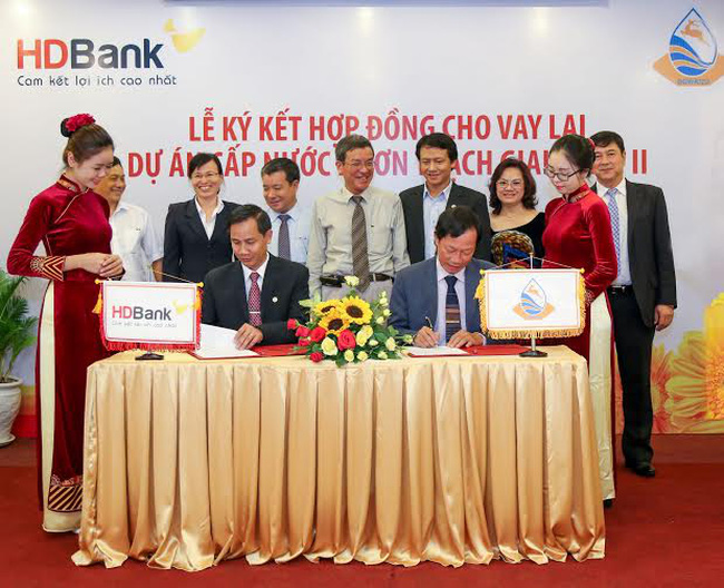 HDBank cho vay lại gần 3.000 tỷ đồng vốn ODA