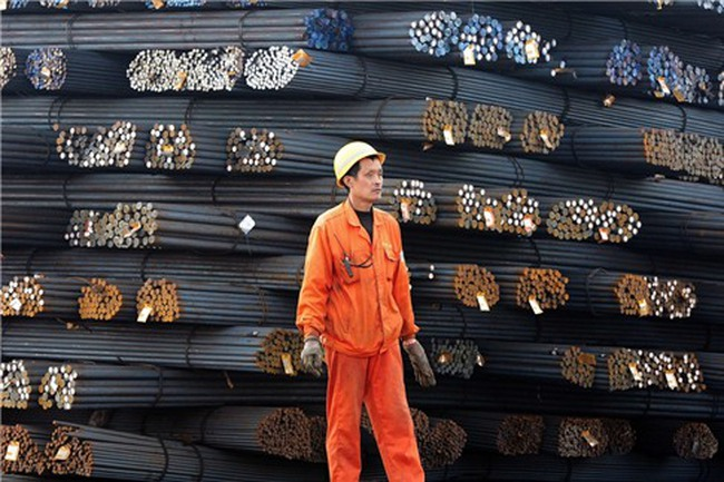 Giá quặng sắt tăng nhờ thép Trung Quốc