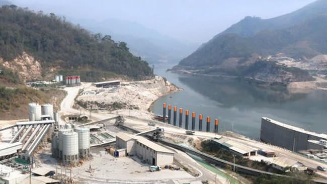 Thủy điện Xayaburi chặn dòng nước Mekong