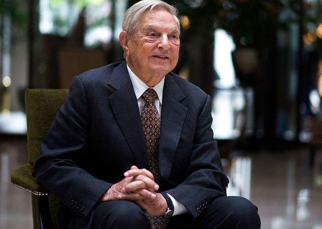 Đi ngược thị trường, George Soros tăng gấp đôi đặt cược chứng khoán sẽ lao dốc