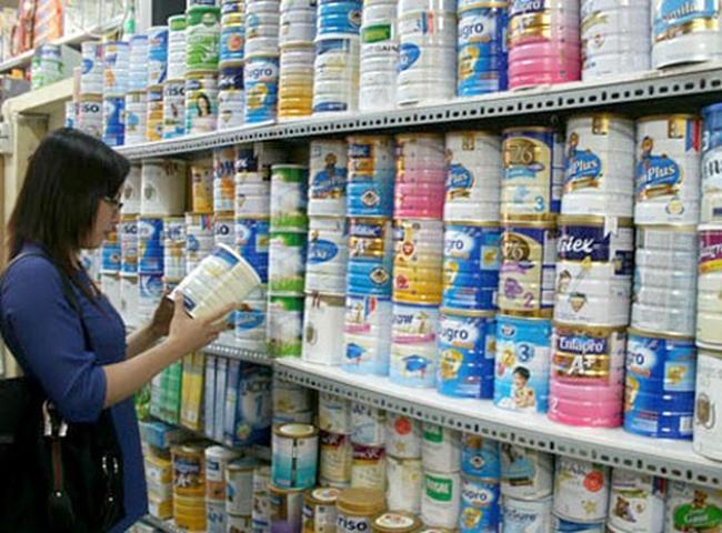808 dòng sản phẩm sữa đã công bố giá bình ổn
