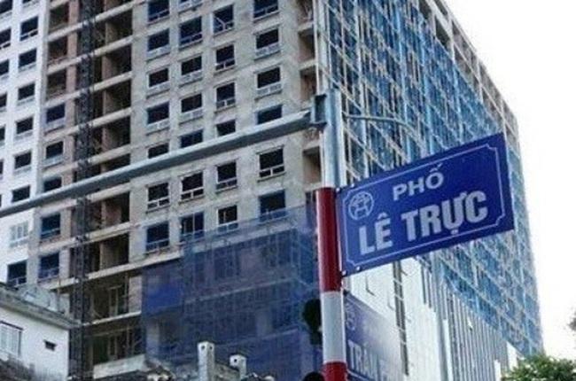 Hà Nội xem xét kỷ luật người ký cấp phép xây dựng nhà 8B Lê Trực