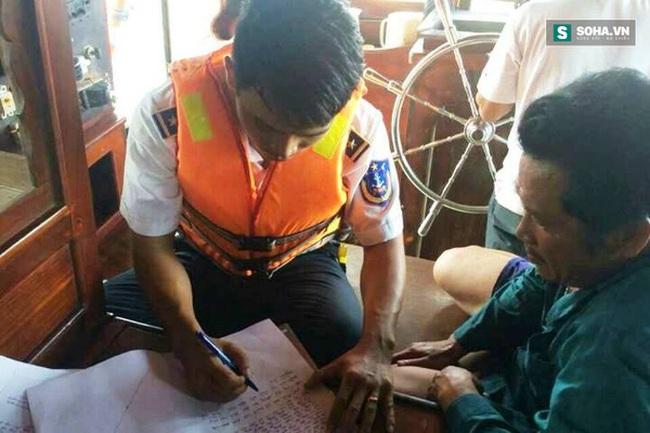 Cảnh sát biển bắt tàu chở 50.000 lít dầu trái phép