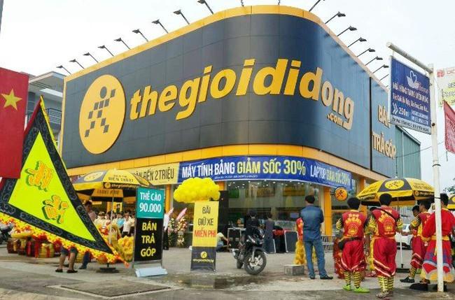 Thế giới di động ồ ạt mở siêu thị, lãi ròng 555 tỷ đồng trong 4 tháng đầu năm