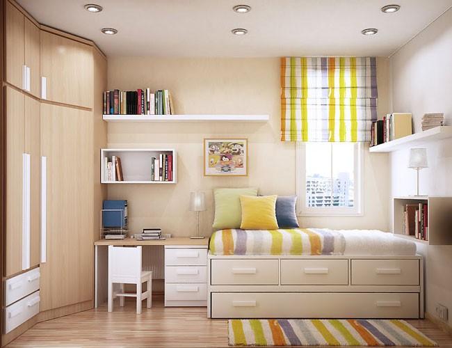 Phòng ngủ diện tích nhỏ đừng bỏ lỡ gợi ý tuyệt vời này