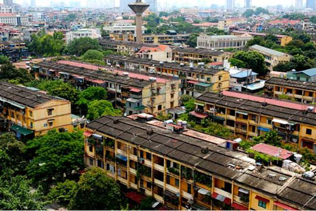 Hà Nội : Hơn 316 nghìn tỷ xây dựng lại 10 khu tập thể
