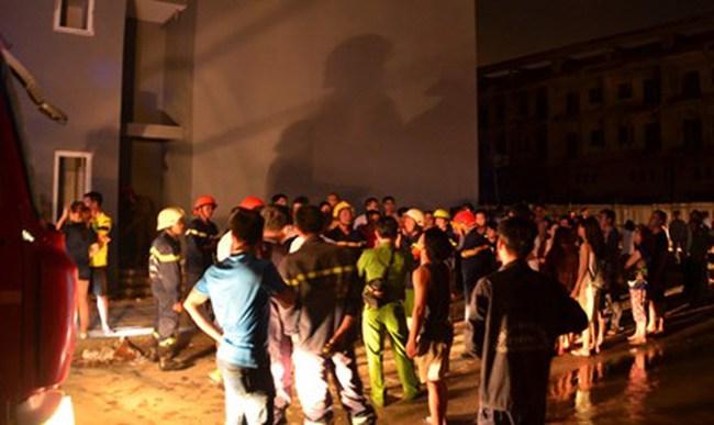 Chung cư HQC Plaza bốc cháy, hàng trăm cư dân tháo chạy trong đêm