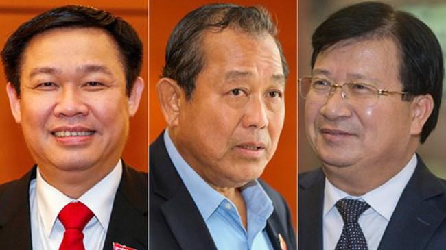 Hôm nay, Quốc hội bầu 3 Phó Thủ tướng, 18 Bộ trưởng mới
