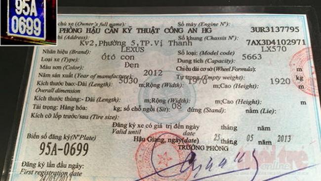Kỷ luật đại tá cấp biển xanh xe Lexus của Trịnh Xuân Thanh