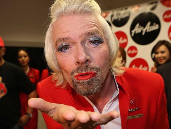 """Những điều đặc biệt xoay quanh tỷ phú """"kỳ dị"""" Richard Branson"""