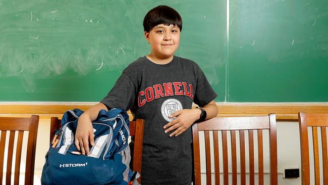 """Câu chuyện thú vị về """"tân sinh viên 12 tuổi"""" của trường đại học danh giá nước Mỹ"""
