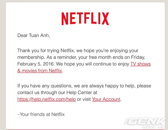 Bạn đang dùng Netflix tại Việt Nam? Hãy đọc ngay nếu không muốn bị trừ tiền