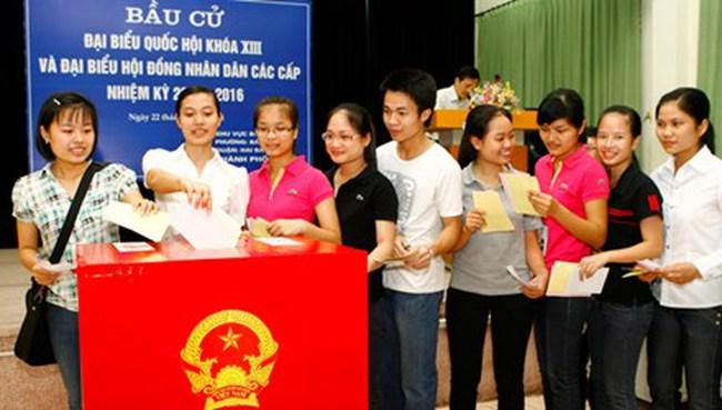 Hà Nội giới thiệu 60 ứng viên, bầu 30 đại biểu Quốc hội
