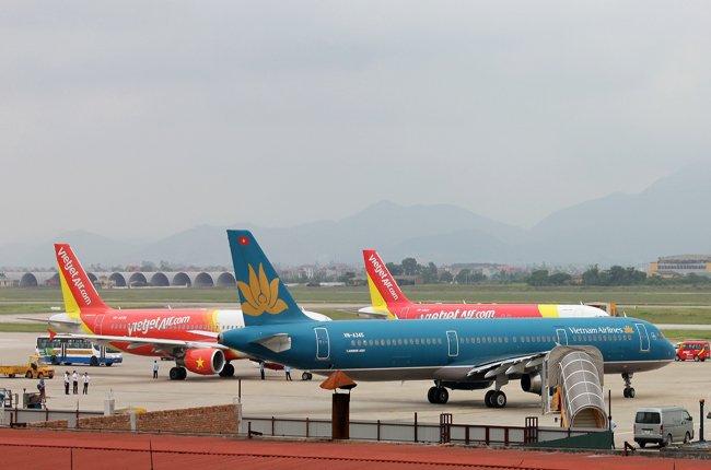Chỉ với 31 tàu bay VietJet đã có 37% thị phần, Vietnam Airlines có 88 tàu bay thị phần chưa tới 50%