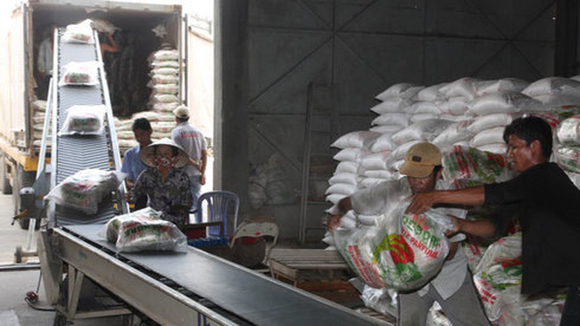 Xuất khẩu gạo khởi sắc đầu năm 2016