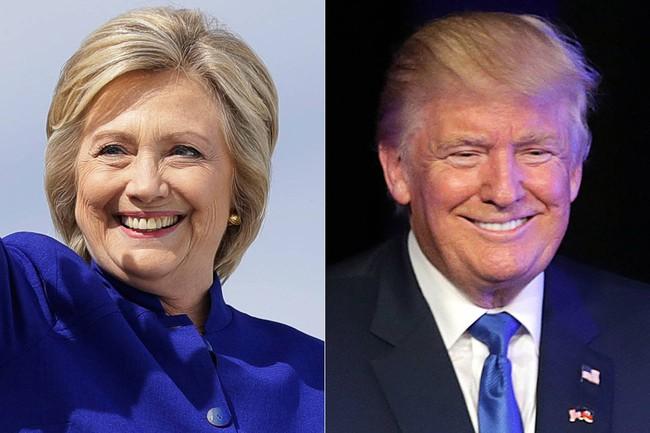 Bầu cử Mỹ: Hillary Clinton vượt lên dẫn trước Donald Trump