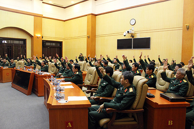 Bộ Quốc phòng giới thiệu ứng viên Đại biểu Quốc hội khóa XIV