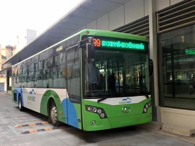 Chi 1.100 tỷ, đi 14,7 km buýt nhanh Hà Nội hơn buýt bình thường 5 – 10 phút